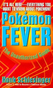 Cover of: Pokemon Fever | Hank Schlesinger