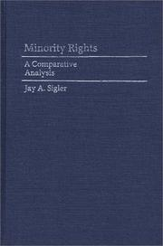 Cover of: Minority rights | Jay A. Sigler
