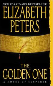 Cover of: The Golden One (Amelia Peabody Mystery) | Elizabeth Peters