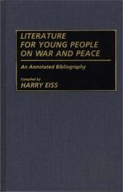 Cover of: Literature for young people on war and peace | Harry Edwin Eiss