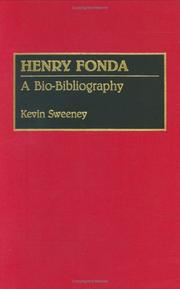 Cover of: Henry Fonda by Kevin Sweeney