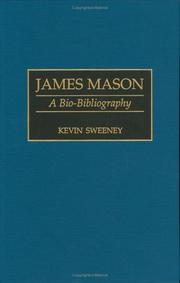 Cover of: James Mason by Kevin Sweeney