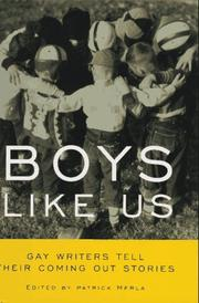 Cover of: Boys Like Us | Patrick Merla