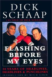 Cover of: Flashing Before My Eyes | Dick Schaap
