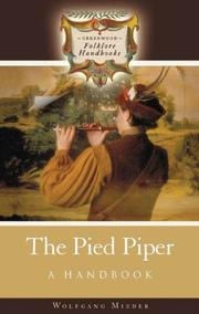 Cover of: The pied piper | Wolfgang Mieder