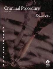 Cover of: Criminal procedure | Mary M. Cheh