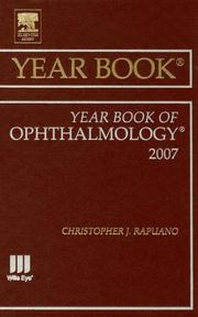 Cover of: Year Book of Ophthalmology by Christopher J. Rapuano