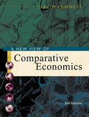 Cover of: A New View of Comparative Economics With Economic Application Card | David A. Kennett