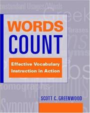 Cover of: Words Count | Scott C. Greenwood
