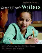 Cover of: Second Grade Writers | Stephanie Parsons