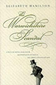 Cover of: The Warwickshire Scandal | Elizabeth Hamilton