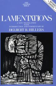 Cover of: Lamentations by Delbert Hillers