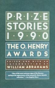 Cover of: Prize Stories 1990 | William Abrahams