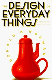 Cover of: The psychology of everyday things | Donald A. Norman