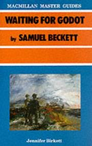 "Cover of: ""Waiting for Godot"" by Samuel Beckett (Master Guides) 