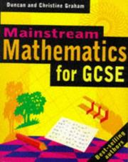 Cover of: Mainstream Mathematics for Key Stage 4 | Duncan Graham