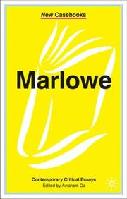 Cover of: Marlowe | Avraham Oz