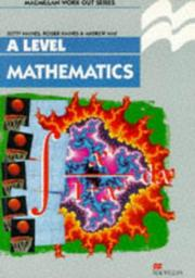 Cover of: Work Out Mathematics A Level | R. Haines