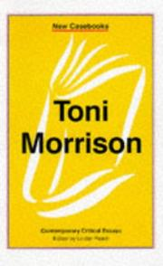 Cover of: Toni Morrison | Linden Peach