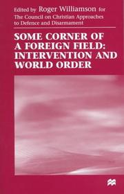 Cover of: Some Corner of a Foreign Field by Roger Williamson