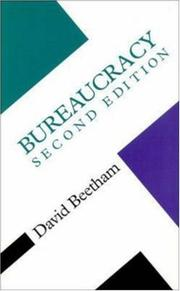 Cover of: Bureaucracy (Concepts in the Social Sciences) | David Beetham