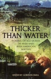 Cover of: Thicker Than Water by Gordon Snell