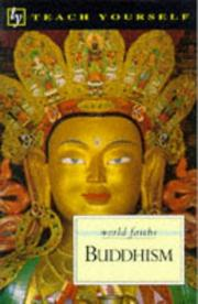 Cover of: Buddhism (World Faiths) | Clive Erricker