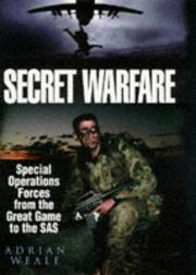 Cover of: Secret warfare by Adrian Weale