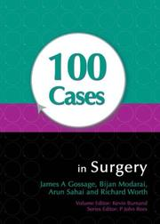 Cover of: 100 Cases in Surgery | Richard Worth