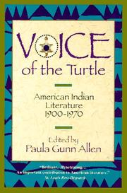 Cover of: Voice of the Turtle | Paula Gunn Allen