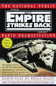 Cover of: The Empire strikes back | Daley, Brian.