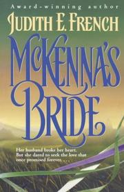 Cover of: McKenna's Bride | Judith French