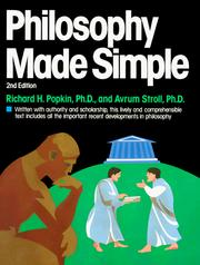 Cover of: Philosophy made simple by Richard Henry Popkin