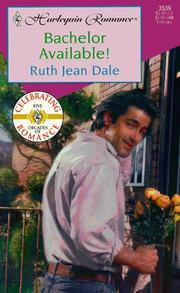 Cover of: Bachelor Available  (Texas Grooms Wanted) by Ruth Jean Dale