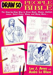 Cover of: Draw 50 People from the Bible | Lee J. Ames