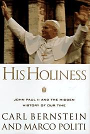 Cover of: His Holiness | Carl Bernstein