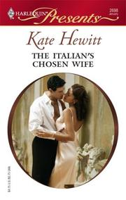 Cover of: The Italian's Chosen Wife by Kate Hewitt