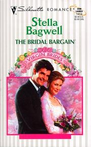 Cover of: The Bridal Bargain (Virgin Bride) | Stella Bagwell