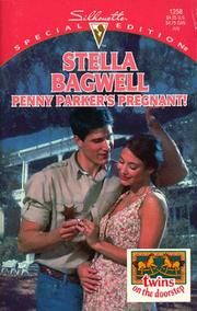 Cover of: Penny Parker'S Pregnant (Twins On The Doorstep) | Stella Bagwell