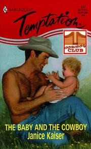 Cover of: The Baby and the Cowboy | Janice Kaiser