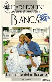 Cover of: Harlequin Bianca | Lee