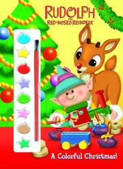 Cover of: A Colorful Christmas! (Paint Box Book) by Golden Books