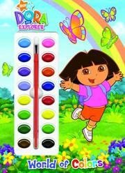 Cover of: World of Colors (Deluxe Paint Box Book) by Golden Books