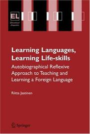 Cover of: Learning Languages, Learning Life Skills | Riitta Jaatinen