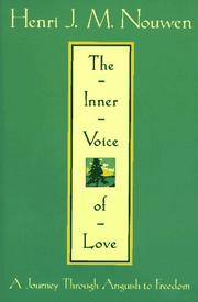 Cover of: The Inner Voice of Love | Henri Nouwen
