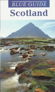 Cover of: Blue Guide Scotland (11th ed) | John Tomes