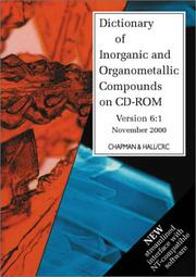 Cover of: Dictionary of Inorganic and Organometallic Compounds on CD-ROM | Fiona MacDonald