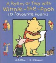 Cover of: A Poem or Two with Winnie-the-Pooh (Hunnypot Library) | A. A. Milne