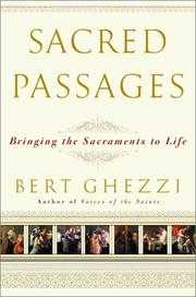 Cover of: Sacred Passages | Bert Ghezzi