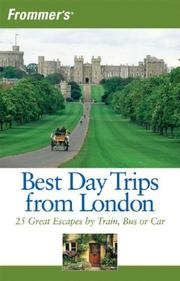 Cover of: Frommer's Best Day Trips from London | Donald Olson
